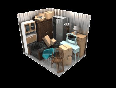 8'x10' Storage Unit
